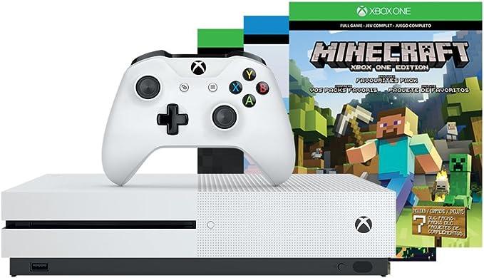 Xbox One S 500GB Console - Minecraft Bundle(Versión EE.UU ...
