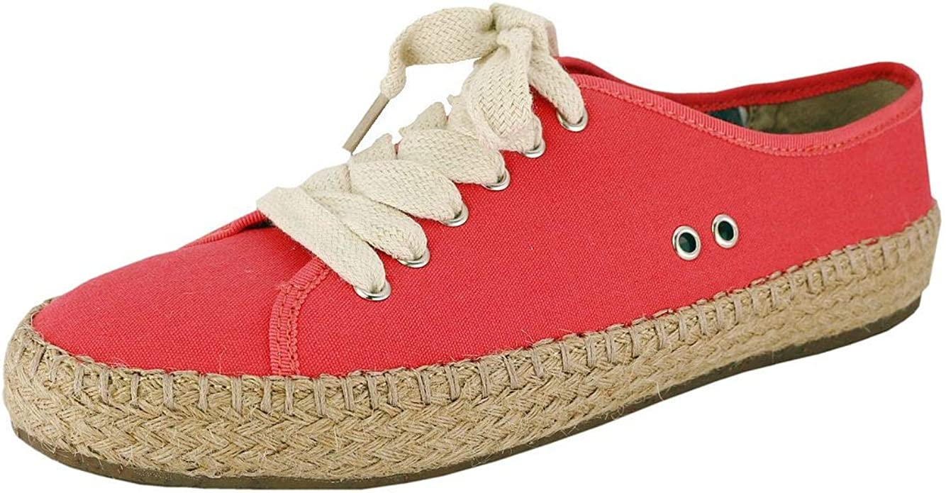 Pamir Womens Espadrilles Casual Flats Classic Slip-On Comfort Canvas Shoes