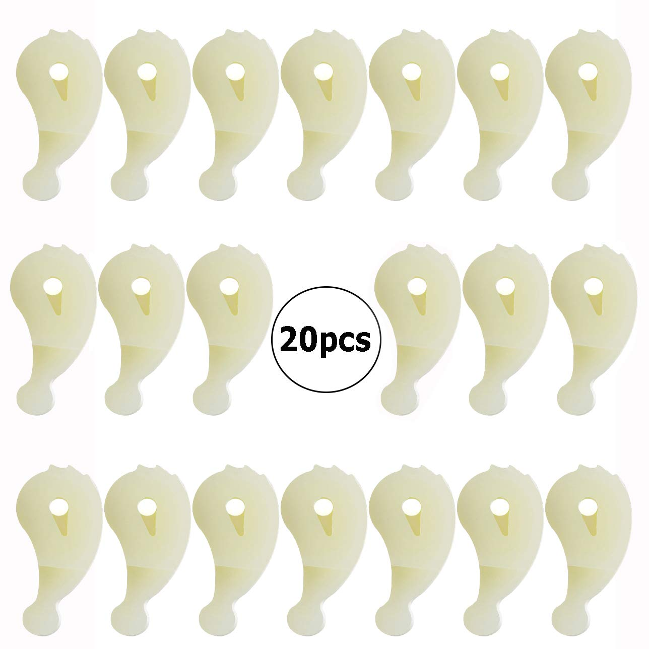 20 Pieces 80040 Washer Agitator Dog Replacement Kit for Whirlpool and Kenmore Washer