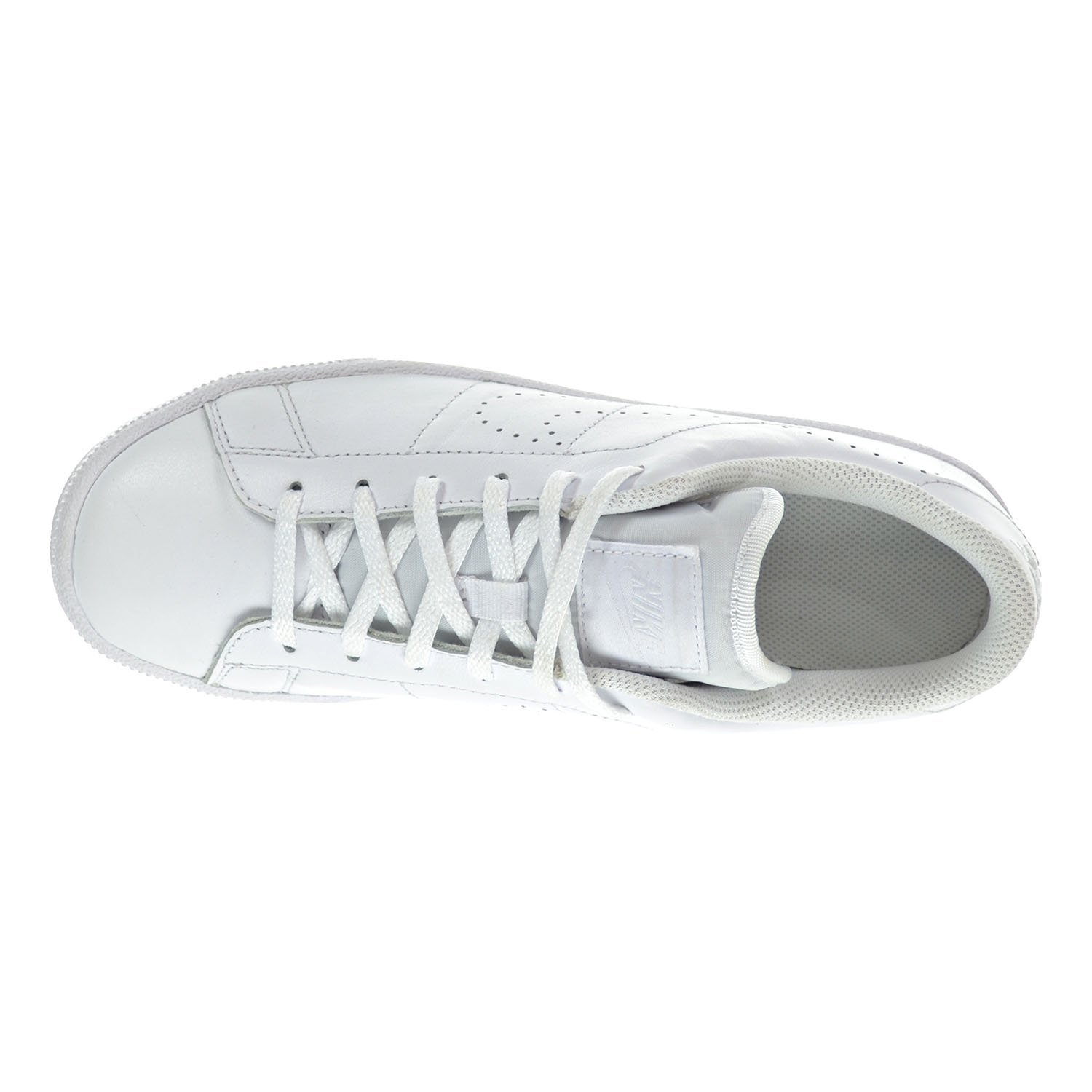 Amazon.com | Nike Tennis Classic PRM (GS) Big Kid's Shoes White/White  834123-100 (6 M US) | Sneakers