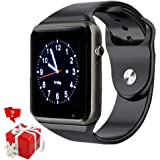 Bluetooth Smart Watch, SmartWatch Phone with Camera SIM Card Slot for Pedometer Call/Message