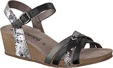 Mephisto Mado Strappy Wedge Sandal (Women's) gDQIc