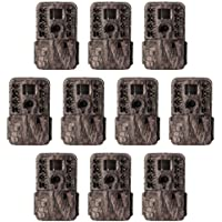 Moultrie M-40i 16MP 80 FHD Video No Glow Game Trail Camera, 10 Pack | MCG-13182