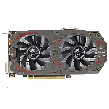 JUNERAIN Tarjeta gráfica Oficial GTX 1060 GPU 6GB 192bit ...