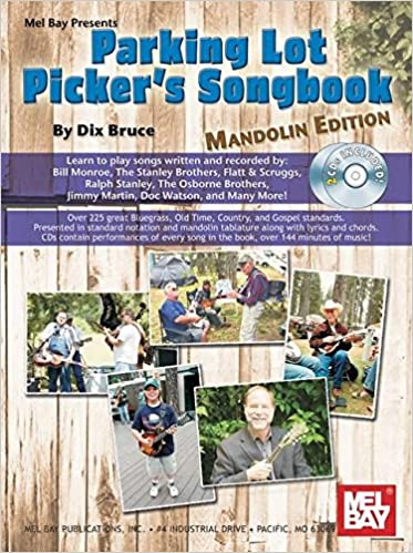 Amazon Parking Lot Pickers Songbook Mandolin 9780786674923
