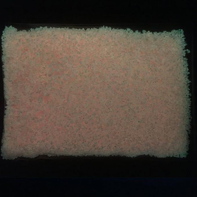 50 g Glow in The Dark Gravel Fluorescent Sand Photoluminescent Grain Wall//Craft//Resin Jewelry Decor Luminous Graffiti Pigment Pink