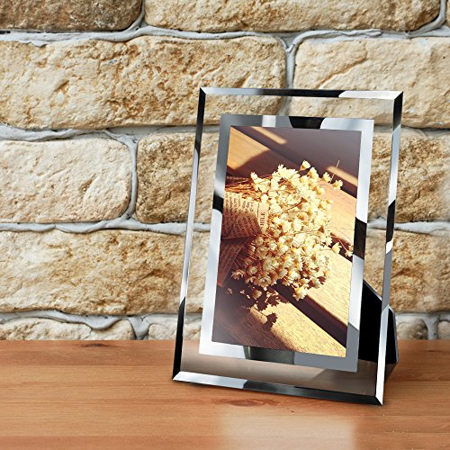 PETAFLOP 4x6 Picture Frame Perfect for Wedding, Offices, Restaurants, Business, 2 Pack