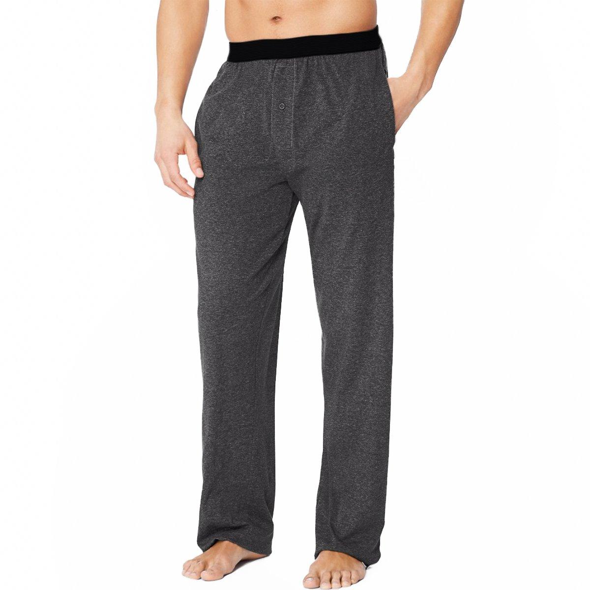 Ecko Knit Sleep Pants for Men Pajamas for Boys Teen Super Soft Lounge Pants Men with Pockets Cool Sleeping Pajamas Adult PJs