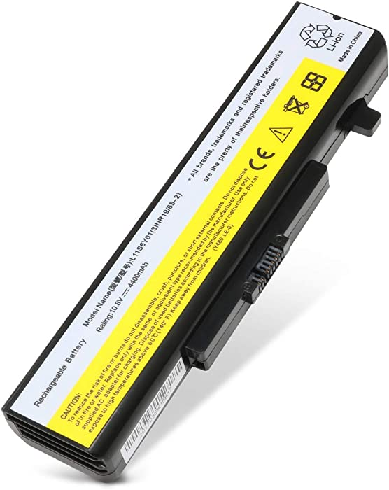 Ankon 48Wh Laptop Battery for Lenovo IdeaPad Y480 Y580 Series G480 G580 Z380 Z480 Z580 Series Compatible P/N:L11S6Y01 L11L6Y01 45N1043 Series