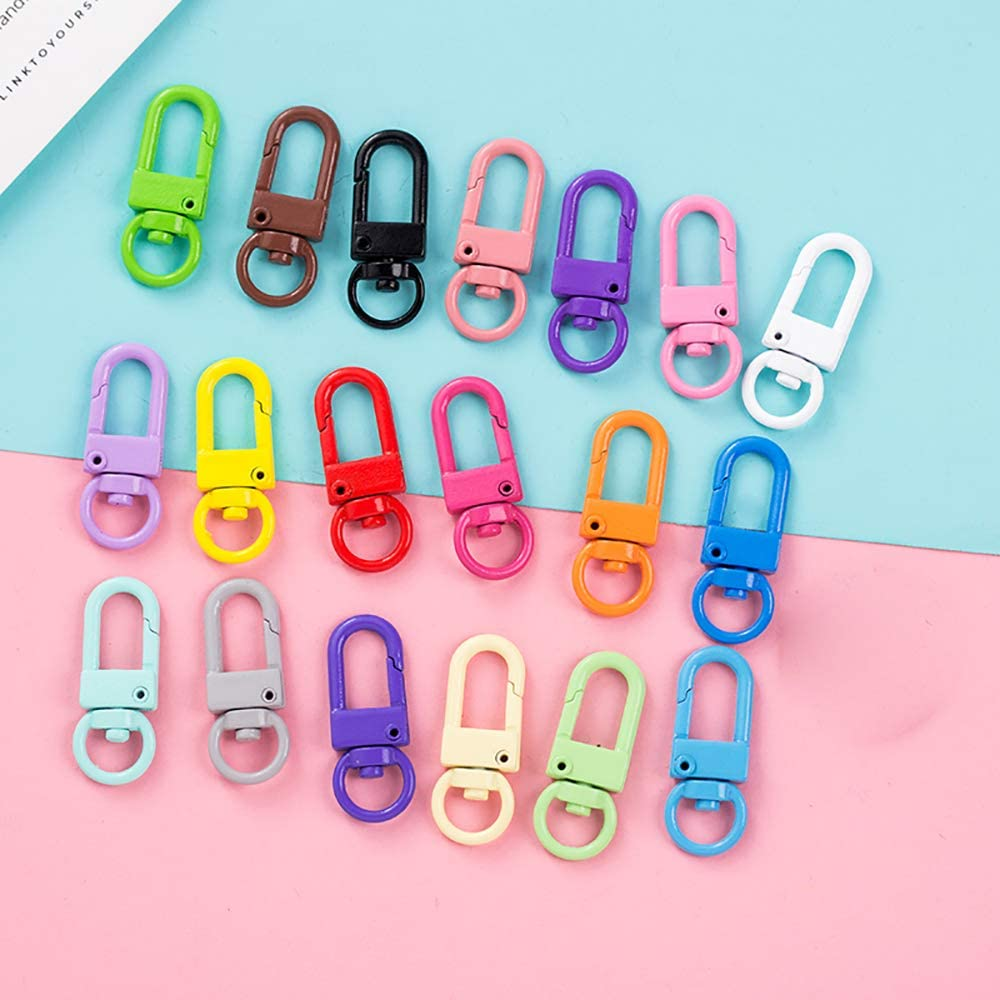 Details about  /20 pieces 15-50 swivel mount stainless steel rod leash