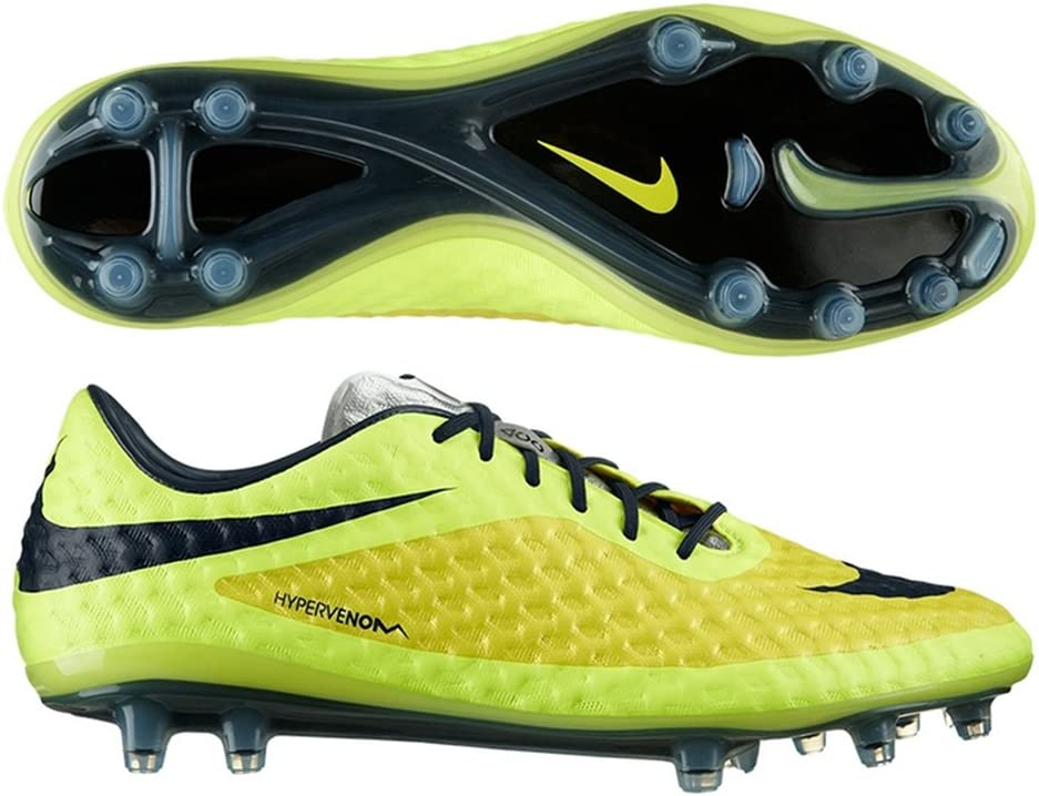 Volcánico Tanga estrecha esclavo  Nike Hypervenom Phantom FG Soccer Cleats - (Vibrant Yellow/Volt Ice/Black)  (9): Amazon.co.uk: Sports & Outdoors