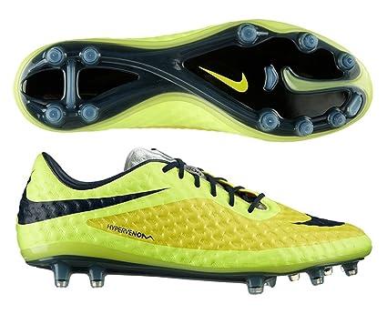 Nike Hypervenom Phantom FG Botines De Fútbol - (Amarillo Vibrante/Volt Hielo/Negro