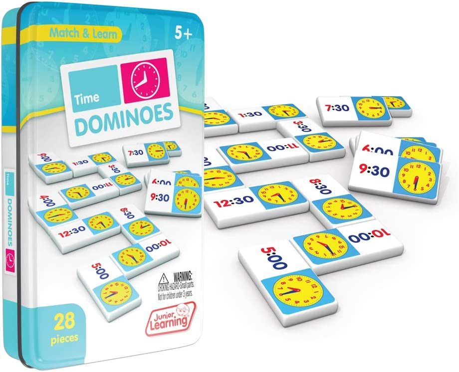 Junior Learning Multiplication Dominoes Educational Action Games