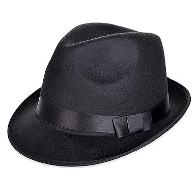 HaiDean Gorros Sombrero De Fieltro Elegante Mujer para Sombrero ...