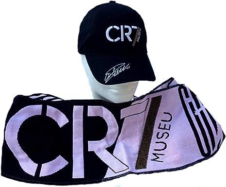 CR7 MUSEU Kit Cristiano Ronaldo Bufanda Jaquard + Sombrero ...