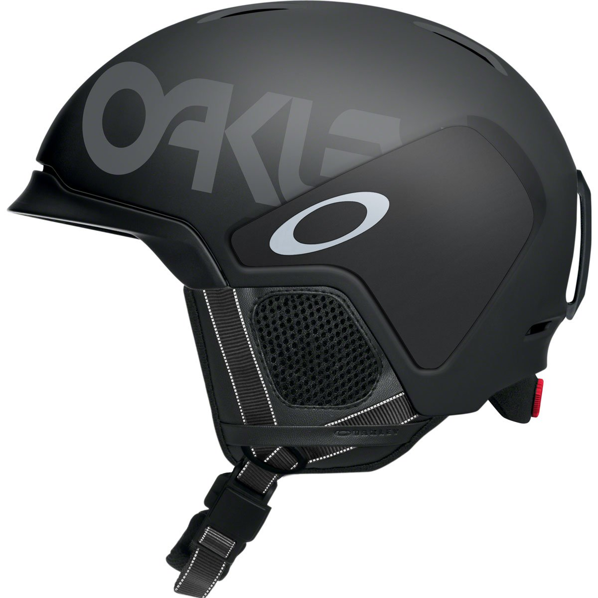 Oakley Mod3 Factory Pilot Snow Helmet, Matte Black, Medium by Oakley