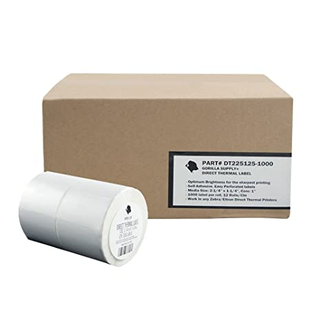 12000 FBA Labels Direct Thermal Label 2 1/4