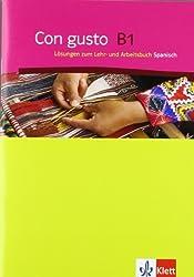 Con gusto / Lösungen zum Lehr- und Arbeitsbuch B1