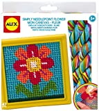 Arts & Crafts : ALEX Toys Craft Simply Needlepoint Flower