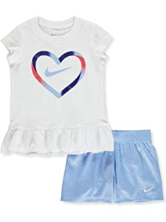 757c7d26f35b39 Amazon.com  Nike Girls Dri-FIT Sport Romper  Clothing
