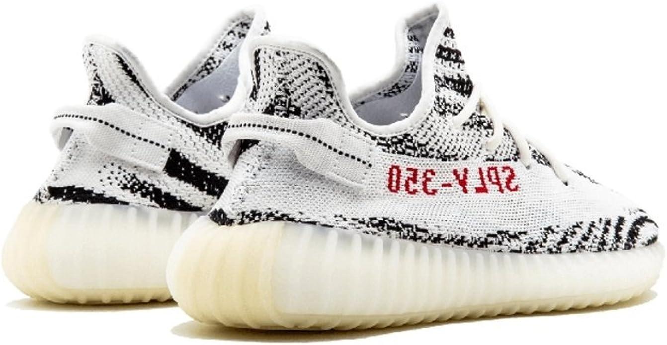 adidas Mens Yeezy Boost 350 V2 Zebra