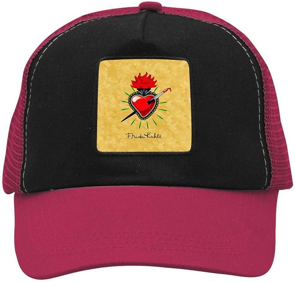 Nichildshoes hat Mesh Cap Hat for Men Women Unisex,Print Heart Me