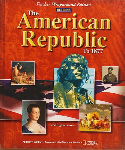 The American Republic to 1877, Teacher Wraparound Edition pdf epub