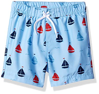 fd24f7a1d7 Amazon.com: Little Me Children's Apparel Baby and Toddler Boys Swim ...