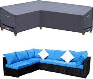 Heavy Duty Outdoor Sectional Sofa Cover, 83