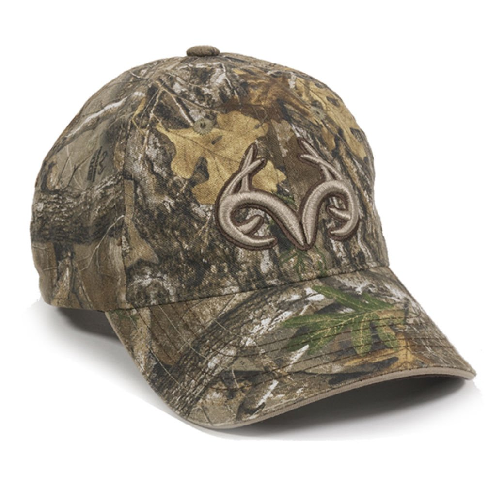 Realtree Edge Buck Horn Camo Hunting Hat B0792KFPDH