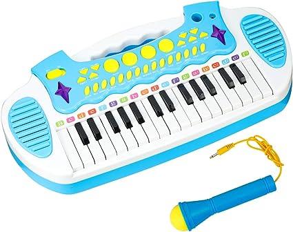Amazon.com: Conomus - Piano con teclado para niños de 3 a 5 ...
