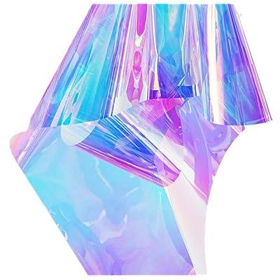 ホット販売 Emoyi Rainbow Glossy Clear Film Holographic Vinyl