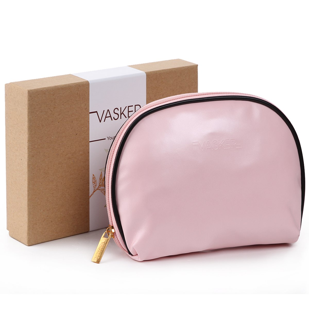 Amazon Com Vasker 3 Layers Waterproof Makeup Bag Travel