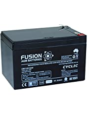 Fusion 12V 14Ah Deep Cycle AGM Battery CBC12V14AH