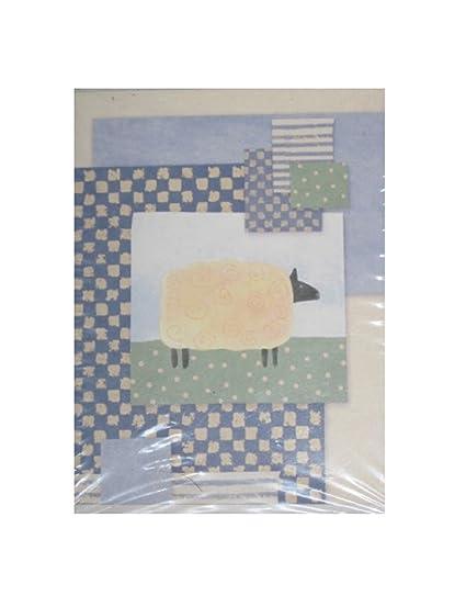 Amazon american greetings designer collection sheep note cards american greetings designer collection sheep note cards envelopes blank inside 20 count m4hsunfo