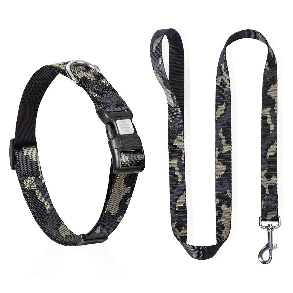 YAKEDA Dog Collar and Leash Set
