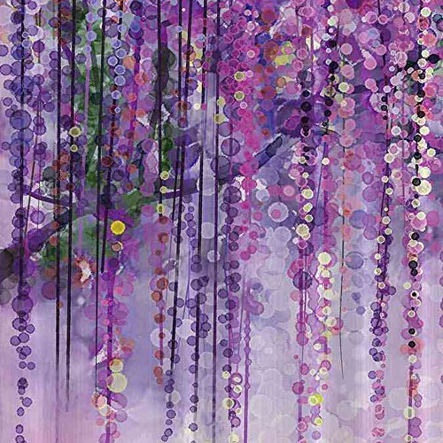 YUNBABA Art Printing Decor Collection Spring Landscape