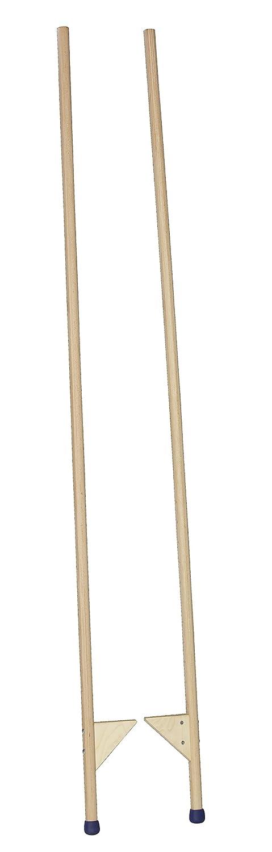 Pedalo® Stelzen 200 cm aus Holz I Holzstelzen I für Kinder und Erwachsene I Höhenverstellbar