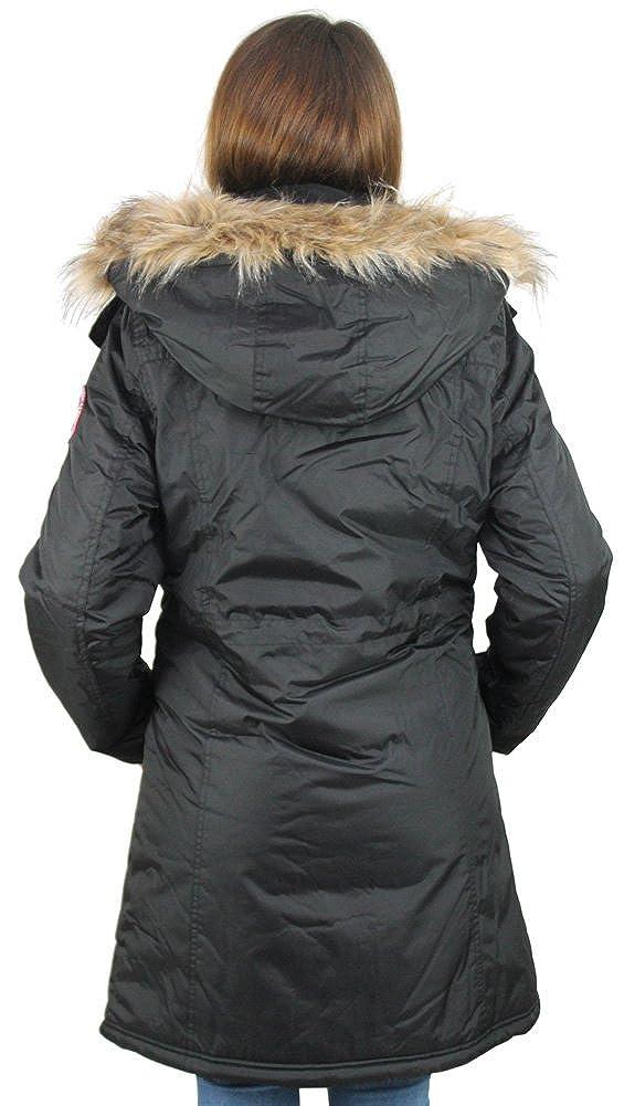 bf6ce53e73 Canada Weather Gear Cappotto da donna giacca invernale in piumino d ...