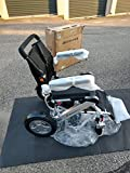 F KD FoldLite Lightweight Portable Folding Electric Power Wheelchair Heavy Duty, with Dual Strong Brushless Motors, Load Capacity 330 lbs, 2010
