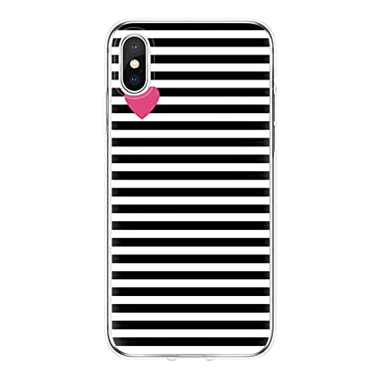 Amazon.com: Love Heart Cover for iPhone 7 6 S 8 Plus Fundas ...