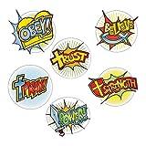 Superhero Faith Cutouts