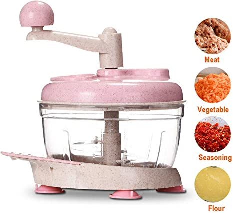 Multifunción Verdura Picadora de Carne Manual Food Chopper ...