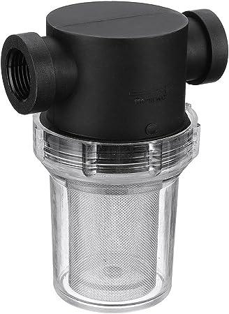 Filtro de tubería universal para el hogar, filtro de malla en línea, filtro de bomba de agua para el jardín, riego, flujo alto 25 mm As Picture Show: Amazon.es: Hogar