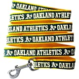 Pets First MLB Oakland Athletics Dog Leash, Medium