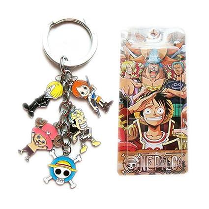 Mono D Luffy Nico Robin Nami Anime One Piece Color Metal ...