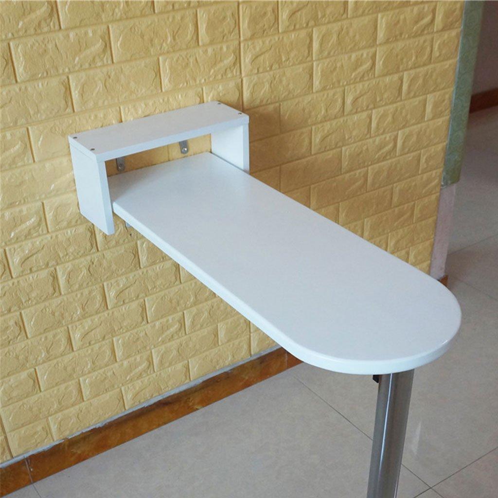 壁用KTV家具バーテーブルハイテーブルシンプルな現代の折り畳みコーヒーテーブルラウンドホワイト木製ダイニングテーブル幅20cm / 30cm (サイズ さいず : 115*30*112cm) B07F2CDWYQ  115*30*112cm