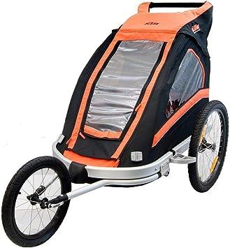 Marken Fahrrad Anhanger Fur 2 Kinder Jogger 360 Laufrad Mit