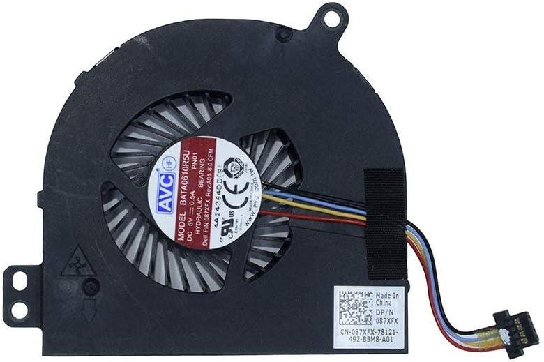 New Compatible for Dell Latitude E5440 E5540 Series Laptop 4-pin 4-Wire CPU Cooling Fan 87XFX 087XFX