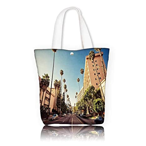 3c6accdf0c64 Amazon.com: Canvas Tote Bags -W15 x H14 x D4.7 INCH/Shopping Travel ...